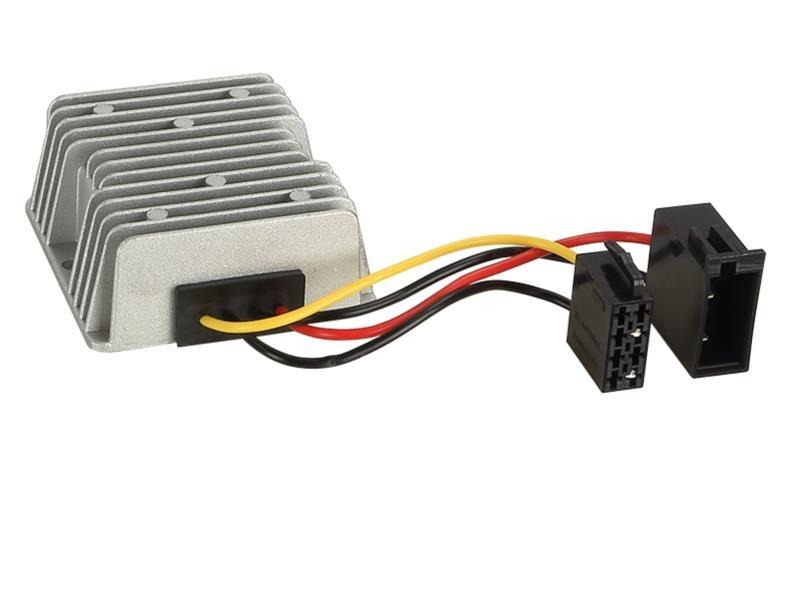 spannungswandler inverter 24 volt auf 12 volt 10a. Black Bedroom Furniture Sets. Home Design Ideas